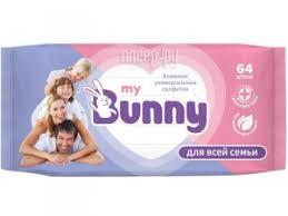 <b>Салфетки My Bunny Универсальные</b> 64шт GL000792275, код ...