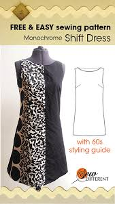 Free Dress Sewing Patterns Mesmerizing Dress Pattern Sew Different