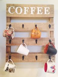 Coffee Cup Rack Under Cabinet 21 Diy Coffee Racks To Organize Your Morning Cup Of Joe