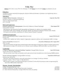 Sample Resumes For Engineering Students Student Resumes Templates