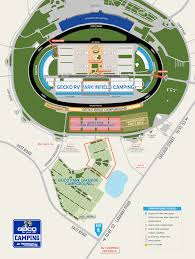 Maps Chicagoland Speedway