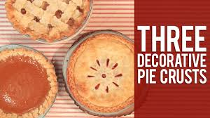 How To Make Decorative Pie Crust Youtube