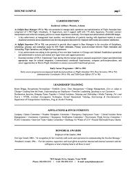Resume Hr Manager Resume Samples