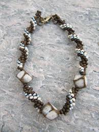 art bead spiral bracelet