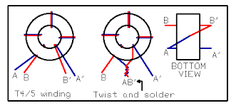 t34 gif Toroidal Transformer Wiring Diagram use a short piece of wire to ground pin 5 of u4 (to mic jack) this will put the circuit into cw mode clip a clip lead or attach a length of toroidal transformer circuit diagram