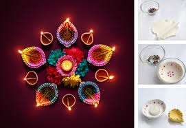 Diya Painting Designs Make Your Own Diya For Diwali Little Passports