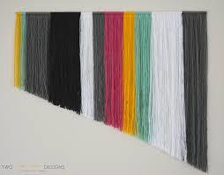 Diy Art Diy Yarn Wall Art Two Thirty Five Designs