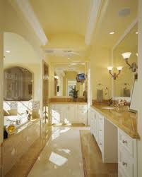 Luxury White Master Bathroom Ideas Pictures - Yellow and white bathroom