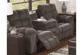 reclining living room furniture brilliant acieona sofa with drop down table ashley 7