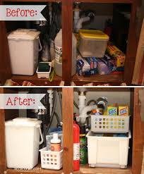 Under The Kitchen Sink Storage Under Bathroom Sink Storage Diy Under Bathroom Sink Organizer