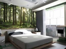 e up the bedroom with wallpaper modern bedroom decoration with maple bed frame and gray