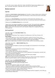 Sample Resume Hospitality Skills List Hospitality Resume Skills Sugarflesh 42