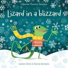 Lizard in a Blizzard by Lesley Sims - ISBN: 9781474946582 (Usborne  Publishing Ltd)