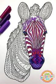 Small Picture adult zebra coloring pages Buscar con Google Coloring Pages