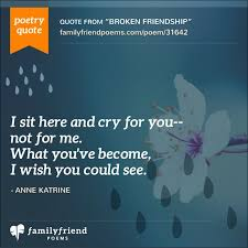 40 Lost Friend Poems Poems About Losing A Friend Stunning Losing A Friendship