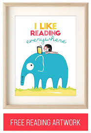Free Reading Printables For Kids Rooms Or Your Childrens Nursery