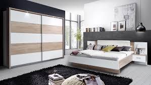 Schlafzimmer Komplett 3 Teilig Mit Beleuchtung 180x200cm Sonoma