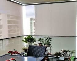 roman blinds singapore. Wonderful Singapore Outdoor Roller Blinds For Condo Balcony Singapore And Roman P