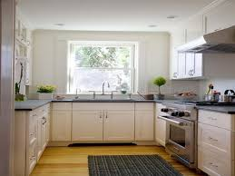 Kitchen Room:Design Ideas Excellent Kitchen Appliances Small Kitchens White  Cabinets Wooden Flooring Feats Square