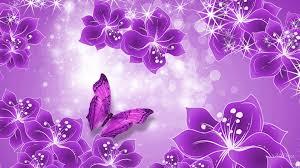 Purple Flowers Backgrounds Purple Flower Background Hd Wallpaper In 2019 Butterfly