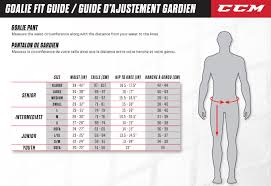 Ccm Warm Up Pants Sizing Chart 66 Perspicuous Ccm Glove Size Chart