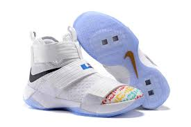 lebron shoes 2017 white. white shoes nike zoom lebron soldier 10 multi-color new 2017 order on sale e