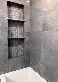 recessed shelf designs shower niche