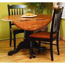 aamerica dining tables british isles drop leaf table honey espresso round from bitney s furniture mattress co
