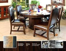 60 inch round dining table seats how many with leaf