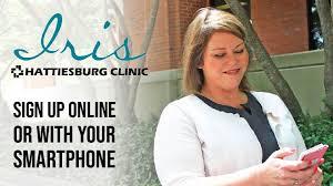 Hattiesburg Clinic Newsroom Sign Up With Iris No Code