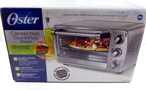 details about new opened oster tssttvcg04 brushed stainless steel convection countertop oven