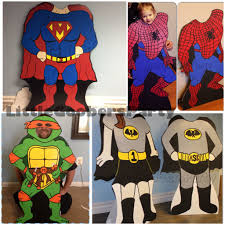 Design Own Superhero Costume My Superhero Cutout Boards They Can Be Personalized And