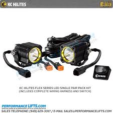 kc hilites flex series led sp beam 269 kc flex series led sp beam 269 includes wiring harness