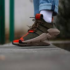 Adidas Prophere Olive Solar Red Cq2127 Adidas Sneakers