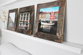 image of diy wood picture frame ideas