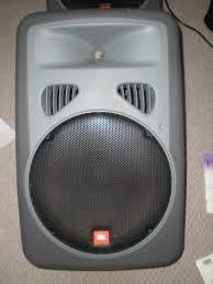 jbl powered speakers. 2 jbl eon 15p powered speakers jbl o