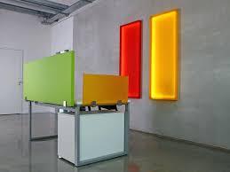 plexi glass desk sound absorbing workstation screen desktop partition office desk combination by seven colors design plexi glass desk