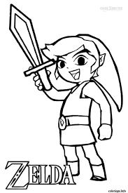 Coloriage Dessin Zelda 6 Dessin