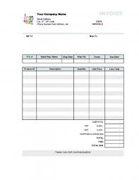 Electrical Invoice Template Free Awesome Free Invoice Forms Form Templates Hvac Service Template Format Excel