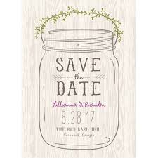 mason jar standard save the date com this button opens a dialog that displays additional images for this product the option to zoom in or out