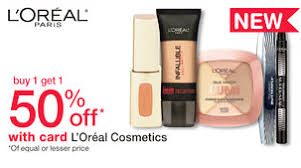 walgreens has l 39 oreal cosmetics on a one get one 50 through 12 5 keep