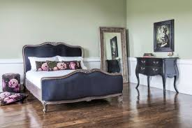 The French Bedroom Company Navy Blue Bed