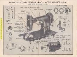 Kenmore E6354 Sewing Machine Manual
