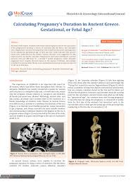 Calendars For Pregnancy Pdf Calculating Pregnancys Duration In Ancient Greece