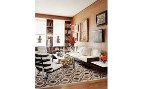 amy lau design in collaboration with kyle bunting and clarissa bronfman custom cowhide rug cream palomino and stone cowhides come together in a custom