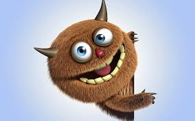 funny monster monster 3d cartoon hd