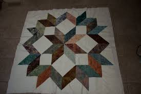 Carpenter Star Quilt Pattern   Harian-metro-online.com & Attractive Carpenter Star Quilt Pattern #8 I Didn't Want To Do A Lot Of  Marking For The Quilting Process So I Chose To Do A Simple Pebble Pattern  In The ... Adamdwight.com