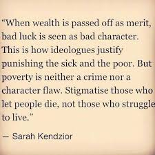 Image result for blaming the poor for their poverty