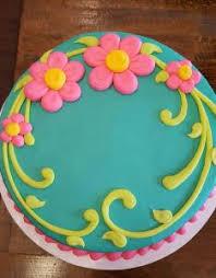 Simple Round Cake Decorating Ideas Valoblogicom