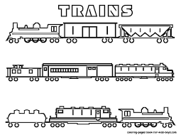 Small Picture Coloring Pages For Train Cars Coloring Pages